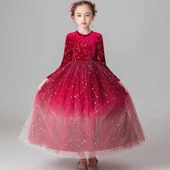 2019 Flower Girl Dresses Luxury Tulle Flower Party Dresses For Wedding Party First Communion Dresses With Bow Ribbon Vestidos.
