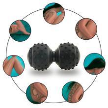 Лакросс миофассия мяч арахис Массажный мяч фитнес тела фасции массаж йога упражнения триггер терапия снимает боль