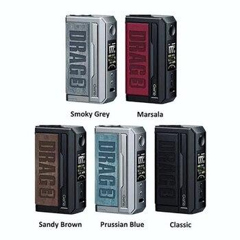 VOOPOO Traîner 3 177W Boîte Mod Kit 5.5ml PPT Pod Réservoir GÈNE VENTILATEUR 18650 Batterie Pour TPP-DM1, DM2Vaporizer Cigarette Électronique