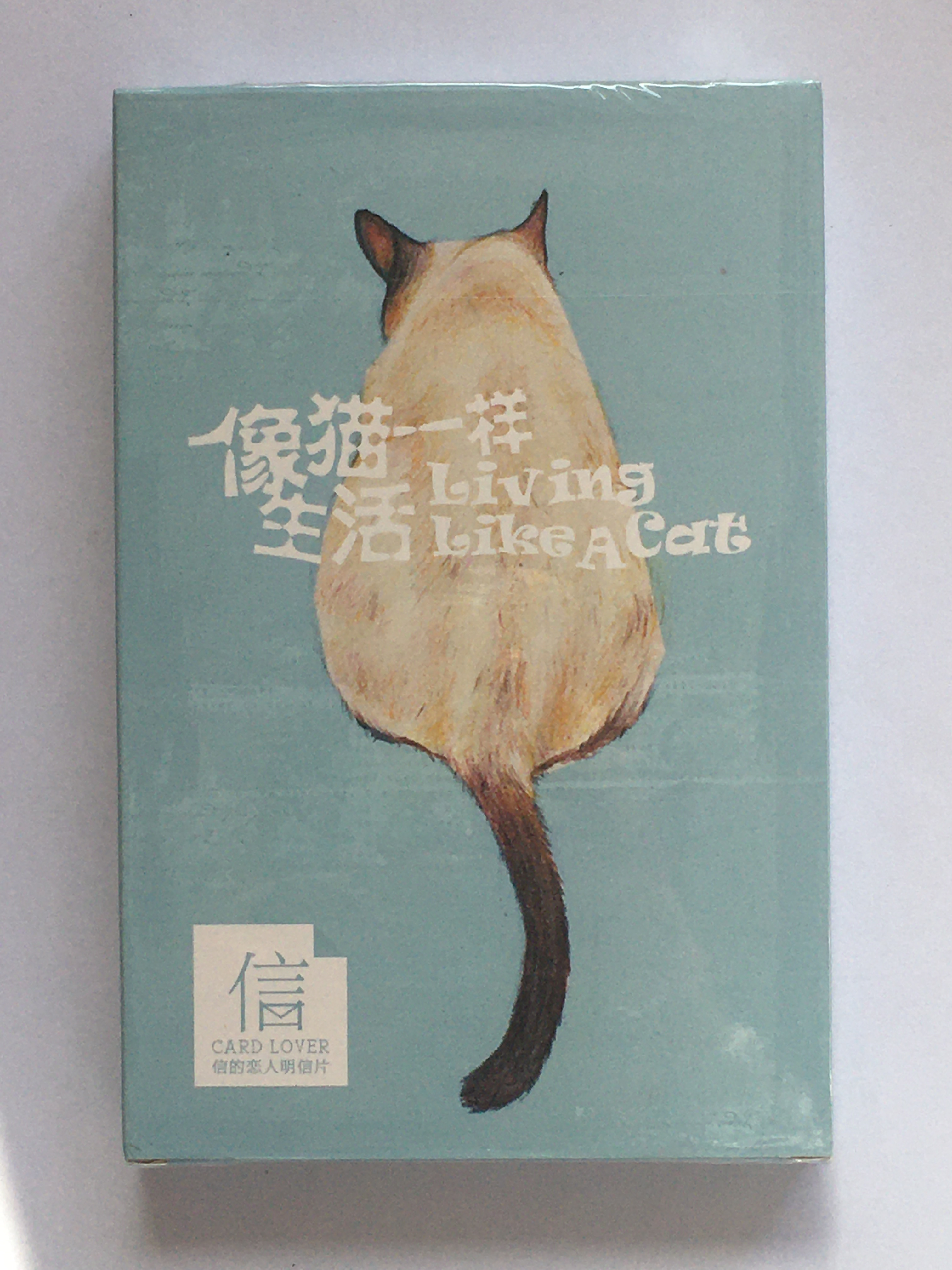 A129- Cat Life Paper Postcard(1pack=30pieces)