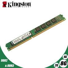 Kingston pamięć stacjonarna 2GB 2G 800MHz PC2-6400 DDR2 PC RAM 800 667 6400 2GB 4GB 8GB PC3 DDR3 1G 2G 4G 8G 1333MHz 1600MHz