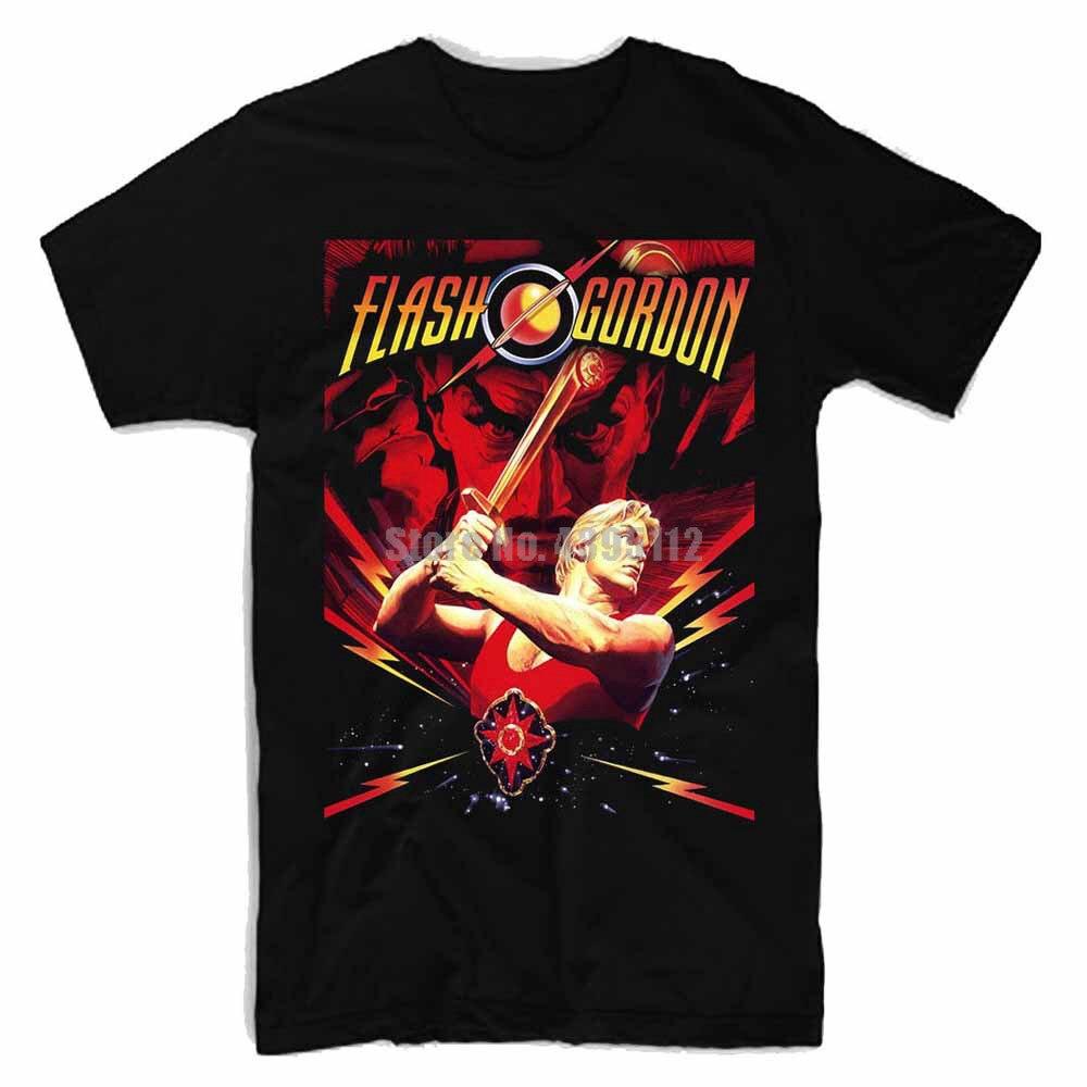 Flash Gordon Man'S Yaoi T-Shirt Carnival Tshirts Clothing T-Shirts Fitness Shirt Summer Tops Tfmlps(China)