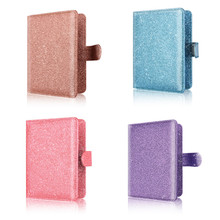 New Fashion Travel Passport Cover Holder Wallet Bling-Bling Credit Card Holders Case Shiny Hasp RFID Blocking for