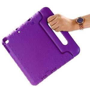 Image 1 - Для ipad air Чехол нетоксичный EVA материалы чехол для планшета для ipad air 2 чехол с ручкой чехол подставка для ipad 2017 2018 для детей
