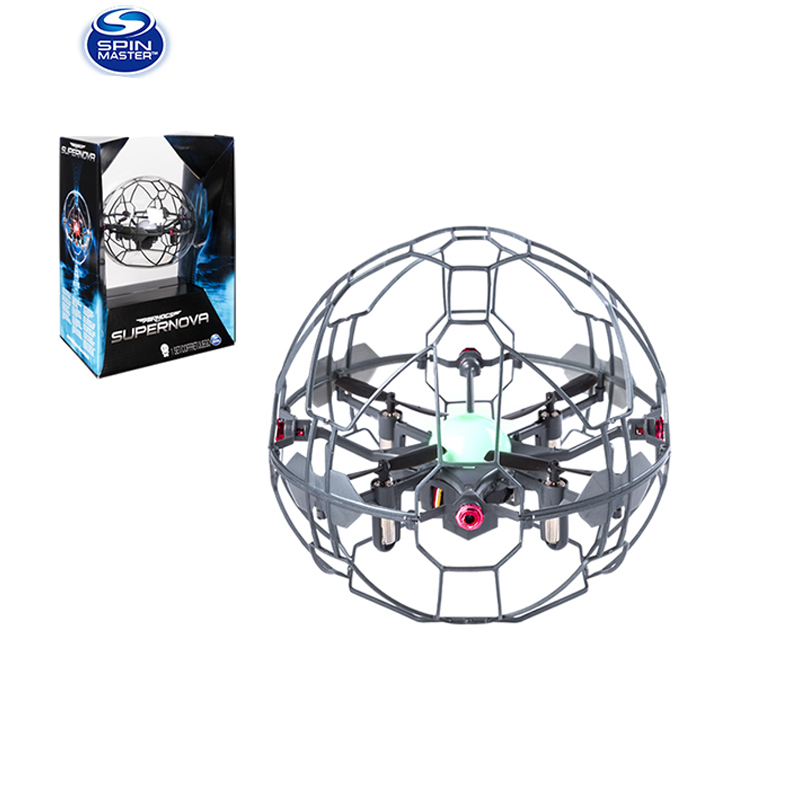 Original Spin Master High Tech Toys  Wonderful Whirlwind Ball Supernova Suspension Rotating Hand Induction Toy For Children Gift