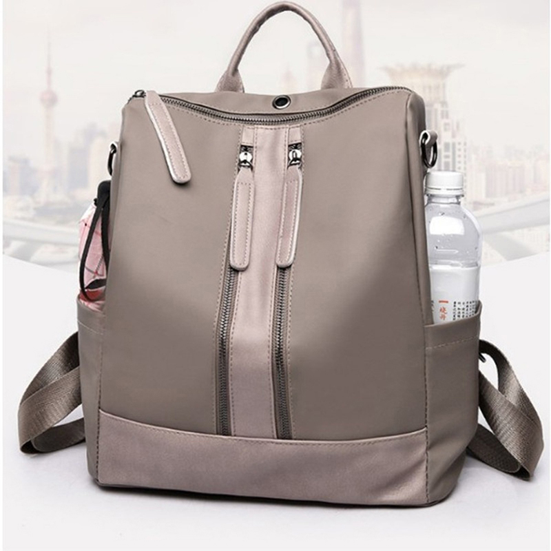 New Fashion Women Backpack High Quality Youth Leather Backpacks For Teenage Girls Female School Shoulder Bag Bagpack Zipper Bags