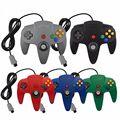 Проводной геймпад, джойстик, дистанционный игровой контроллер для консоли Nintendo N64, игровой контроллер по заводской цене