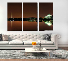 Modern Colorful Photo Picture Jefferson Memorial Revier Room Decor Cities Canvas Art Painting Living Bedroom
