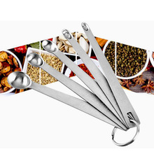 Tableware-Accessories Gadgets Kitchen Measuring-Spoon Cooking-Tools Stainless-Steel Durable