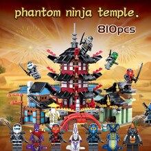 Legoinges Строительные блоки Набор ninjagoes храма золотой дракон Развивающие игрушки для детей, совместимые 24 шт. Ninjagos minifigs