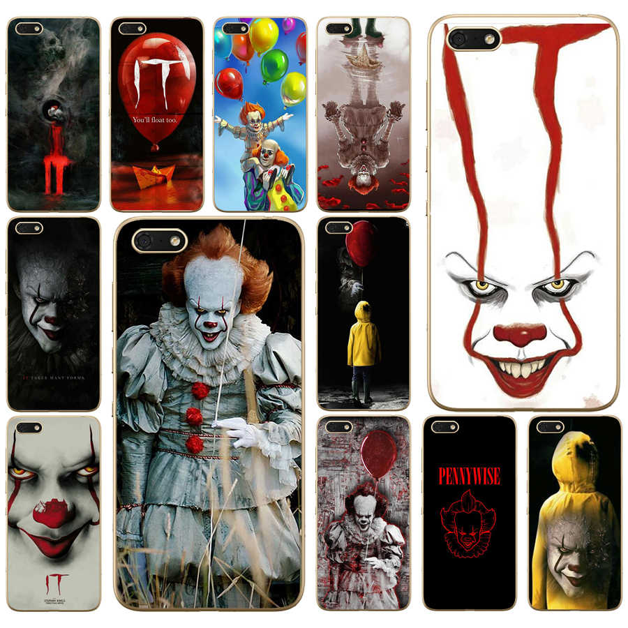 291DD Pennywise The Clown Horror Lembut Silikon Case Penutup untuk Huawei Honor 9 10 Lite 7A 5.45 7A Pro 7C 5.7 inch 7X 8X Case