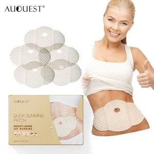 Пластырь для похудения AuQuest 5 шт. целлюлит для живота сжигатель жира живот Талия Вес Lossing паста пупок стикер натуральный диета продукт
