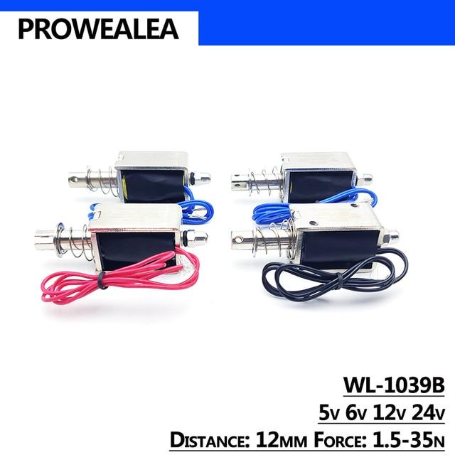 электромагнитный электромагнит pull type wl 1039b 5v 6v 12v фотография