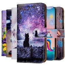 Кожаный чехол-книжка для Samsung Galaxy S3 S4 S5 S6 S7 Edge S8 S9 S10 Plus S20 Ultra FE Note 3 4 5 8 9 10 Pro