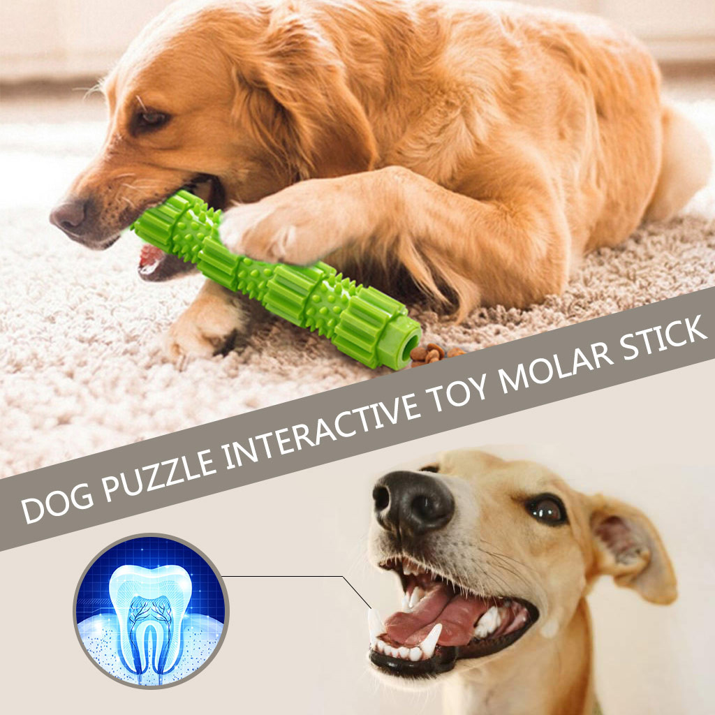 Pet Popular Toys Dog Chew Toy for Aggressive Chewers Treat Dispensing Rubber Teeth Cleaning Toy Dog Toys for Small Dogs #F