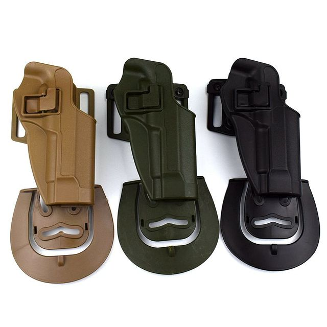 Tactical Beretta M9 92 96 Gun Holster With Gun Accessories Hunting Airsoft Gun Belt Holster Gun Case Pistol Waist Holsters 3