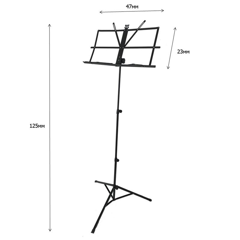 Music Stand (stand for Notes) DEKKO JR-201 BK