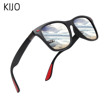 Classic Polarized Sunglasses Men Women Brand Design Driving Square Frame Sun Glasses Male Goggle UV400 Gafas De Sol aofly brand design classic polarized sunglasses men driving tr90 frame sunglasses goggles uv400 gafas oculos de sol af8091