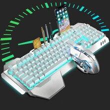 Технология K680 Wrangler перезаряжаемая беспроводная клавиатура и мышь набор клавиатура и мышь комплект