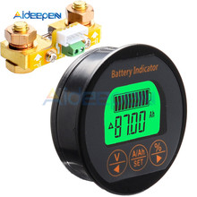 Battery Capacity Tester Coulometer DC8-80V 50A 100A 350A Battery Tester Monitor Indicator Ammeter Voltmeter for Pb Li-Lon Lifepo