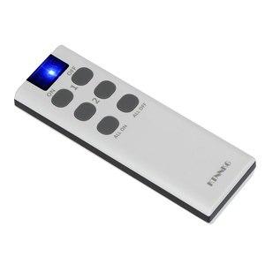 Image 4 - 433 Mhz האלחוטי אוניברסלי מתג 6/8/10 כפתור RF משדר אלקטרוני מנעול בקרת Diy חכם בית