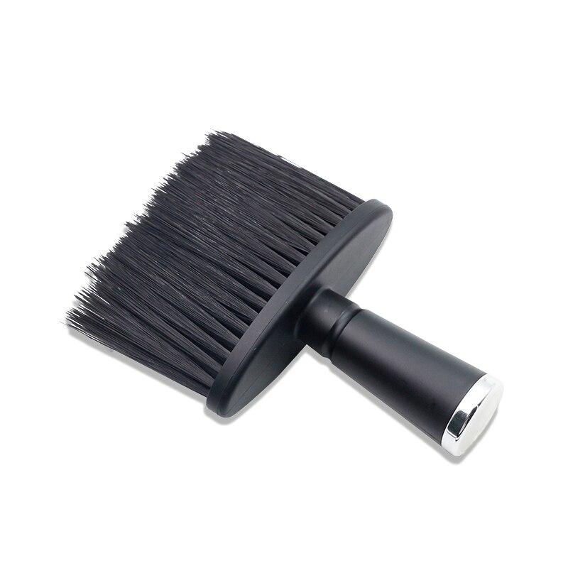 Barber Neck Face Duster Brush Hairdressing Hair Brush Soft Nylon Hair Cutting Cleaning Brush Professional Salon Hairdresser Tool