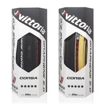 Vittoria Corsa Control G + grafito carrera 2,0 700x25C cubierta negra 320 TPI neumático de bicicleta neumático sin cámara