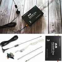 2019 HackRF una plataforma usb SDR Software definido Radio 1MHz a 6GHz Placa de demostración + TCXO + carcasa de Metal + Antena