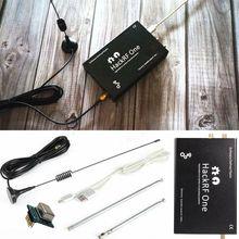 HackRF One plataforma usb SDR, Software de Radio definido, placa de demostración de 1MHz a 6GHz + TCXO + caja de Metal + Antena, 2019