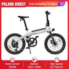 [Eu Direct] Himo C20 Elektrische Fiets 250W Bromfiets Vouwen Mountainbike 36V 10Ah Batterij 20in 23.7 km/h Max Snelheid Ebike Fiets