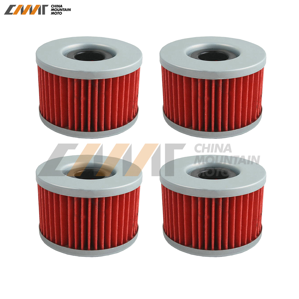 4 pcs oil filter case for <font><b>Honda</b></font> <font><b>TRX</b></font> <font><b>400</b></font> 500 650 680 Rancher <font><b>Foreman</b></font> Rubicon Rincon CBR250RR CB400 450 500 CX650 image