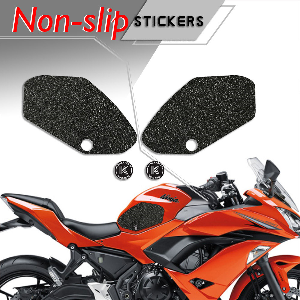 Motorcycle Fuel Tank Side Sticker Protector Decal Non-Slip Pad fits for S1000XR Oil Tank Stick