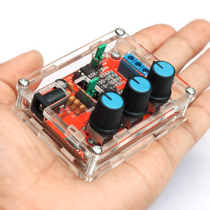 XR2206 Function Signal Generator DIY Kit Sine/Triangle/Square Output 1Hz-1MHz Signal Generator Adjustable Frequency Black(China)