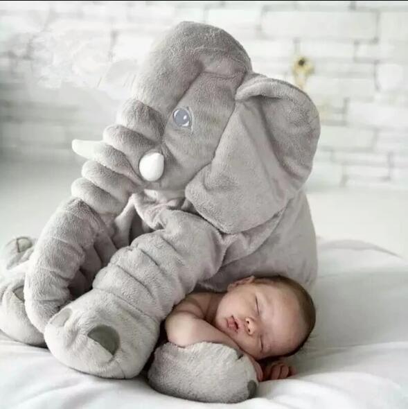 Baby Toy Cartoon Doll Doll Toy Elephant Cute Doll Plush Toy Soothing Elephant Pillow To Accompany Sleeping Doll Doll