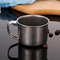 200 мл портативная дорожная кружка из нержавеющей стали для кофе и чая чашка для кемпинга/путешествий/домашнего использования 2021 Кухонные га...