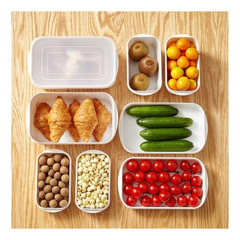 1PCS Kitchen Storage Box Grains Beans Storage Contain Sealed Home Organizer Food Container Refrigerator Storage Boxes image