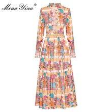 Модное дизайнерское платье moaayina женское на весну и осень