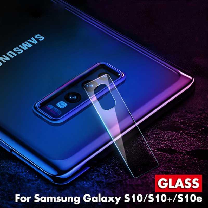 Protetor de tela de câmera para samsung galaxy, a30 a50 s10 plus s10e s10 m30 m20 m10 filme para a câmera e para samsung a9s a9 2018