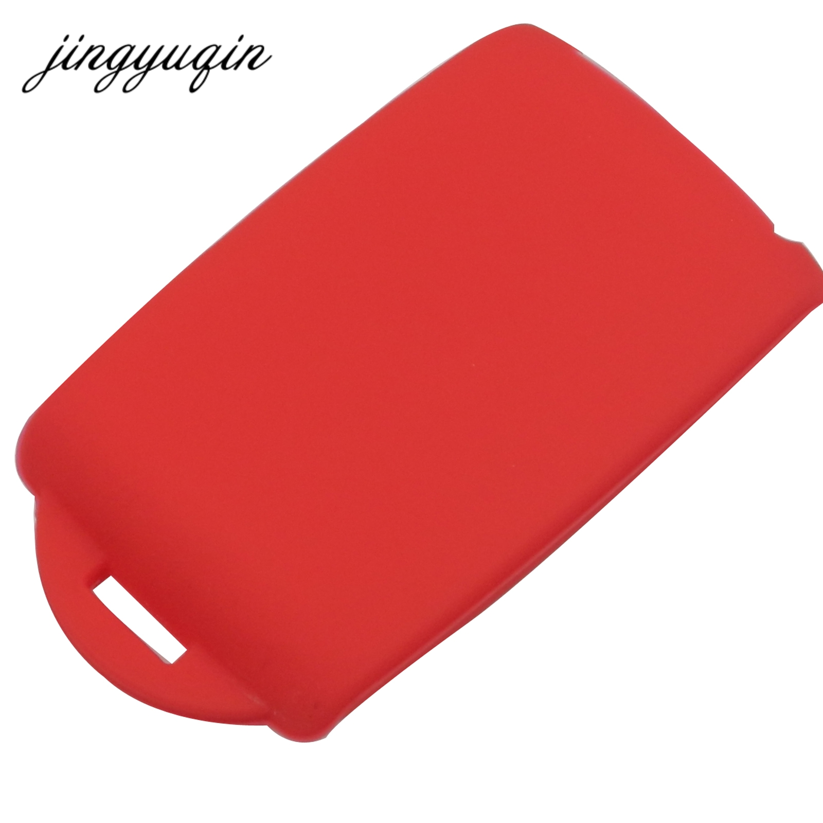 Image 2 - jingyuqin Silicone key fob cover case holder For Renault Koleos Kadjar Megan 2016 2017 card remote keyless-in Key Case for Car from Automobiles & Motorcycles