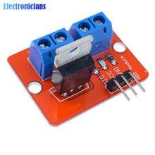 5PCS Top Mosfet Taste IRF520 Mosfet Treiber Modul Für Arduino MCU ARM Raspberry Pi 3,3 v-5V IRF520 Power MOS PWM Dimmen LED