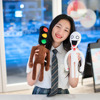 40CMHorror Game siren man cartoon game role-playing Peluches plush stuffed toy doll pillow hand puppet children soothing toy gif