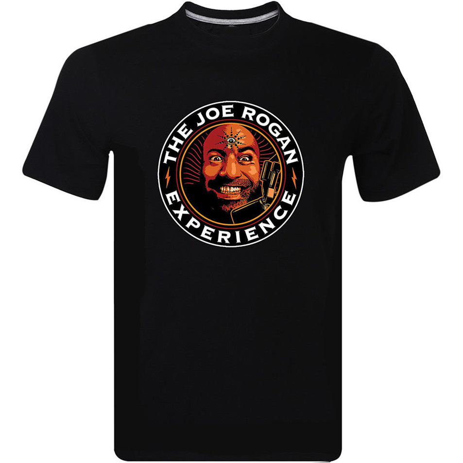 The Joe Rogan Experience Comedian Podcast Mens Design Funny Short Sleeve T-Shirt Male Female Tee Shirt image