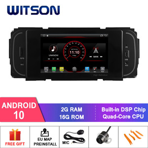 WITSON Android 10.0 2GB RAM 16GB FLASH CAR RADIO for CHRYSLER GRAND VOYAGER Jeep Grand Cherokee +WIFI+DSP+DAB+OBD+TPMS+DVR(China)