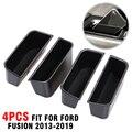 Pcmos ABS пластик, подходит для Ford Fusion 2013-2019, подлокотник, контейнер, дверь, ящик для хранения, ручка, внутренняя отделка, новый