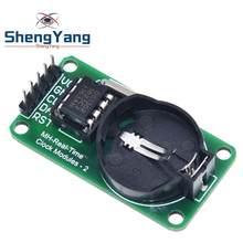 ShengYang – Module d'horloge temps réel RTC DS1302 pour AVR ARM PIC SMD pour Arduino, nouvel arrivage