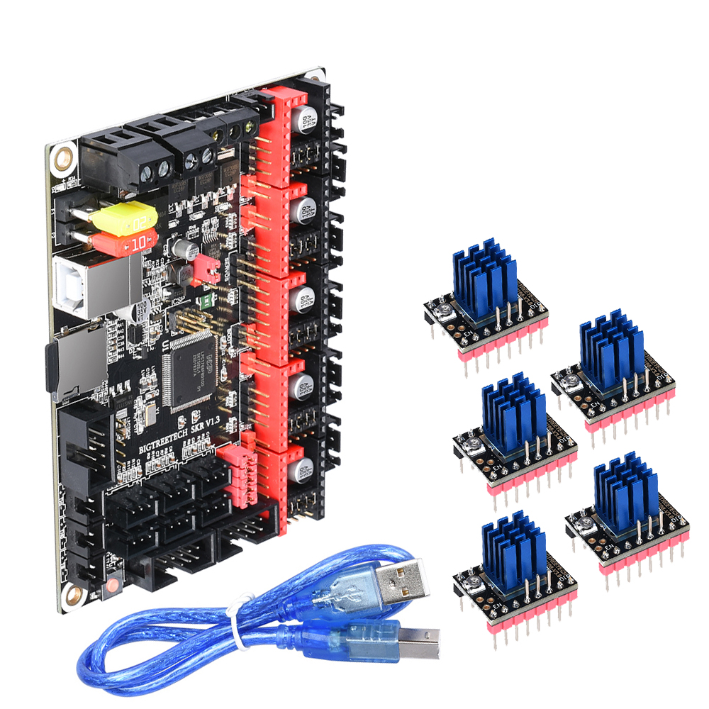 BIGTREETECH SKR V1.3 Control Board Smoothieboard 32 Bit For 3D Printer Board TMC2209 TMC2208 V3.0 UART TMC2130 SPI MKS GEN V1.0|3D Printer Parts & Accessories| |  - title=