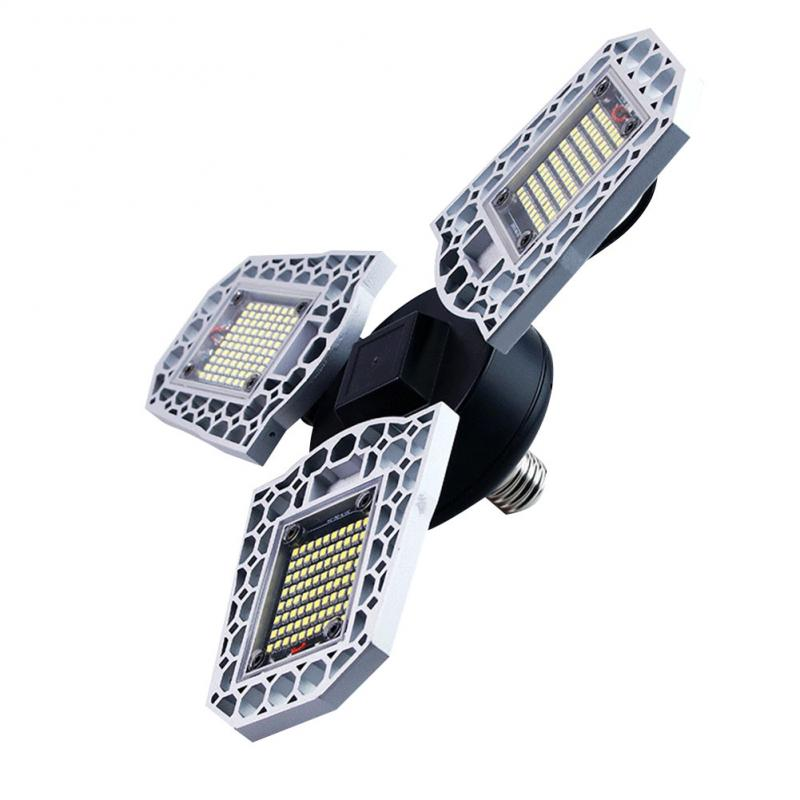 LED Deformation Folding Lamp Garage Lights LED Shop Utility Ceiling Deformable Daylight