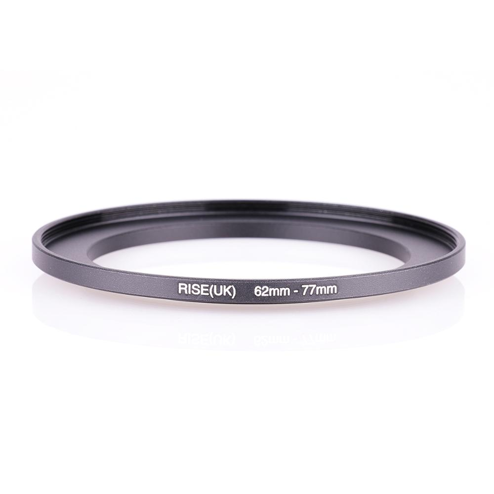 RISE(UK) 62mm-77mm 62-77 Mm 62 To 77 Step Up Filter Ring Adapter