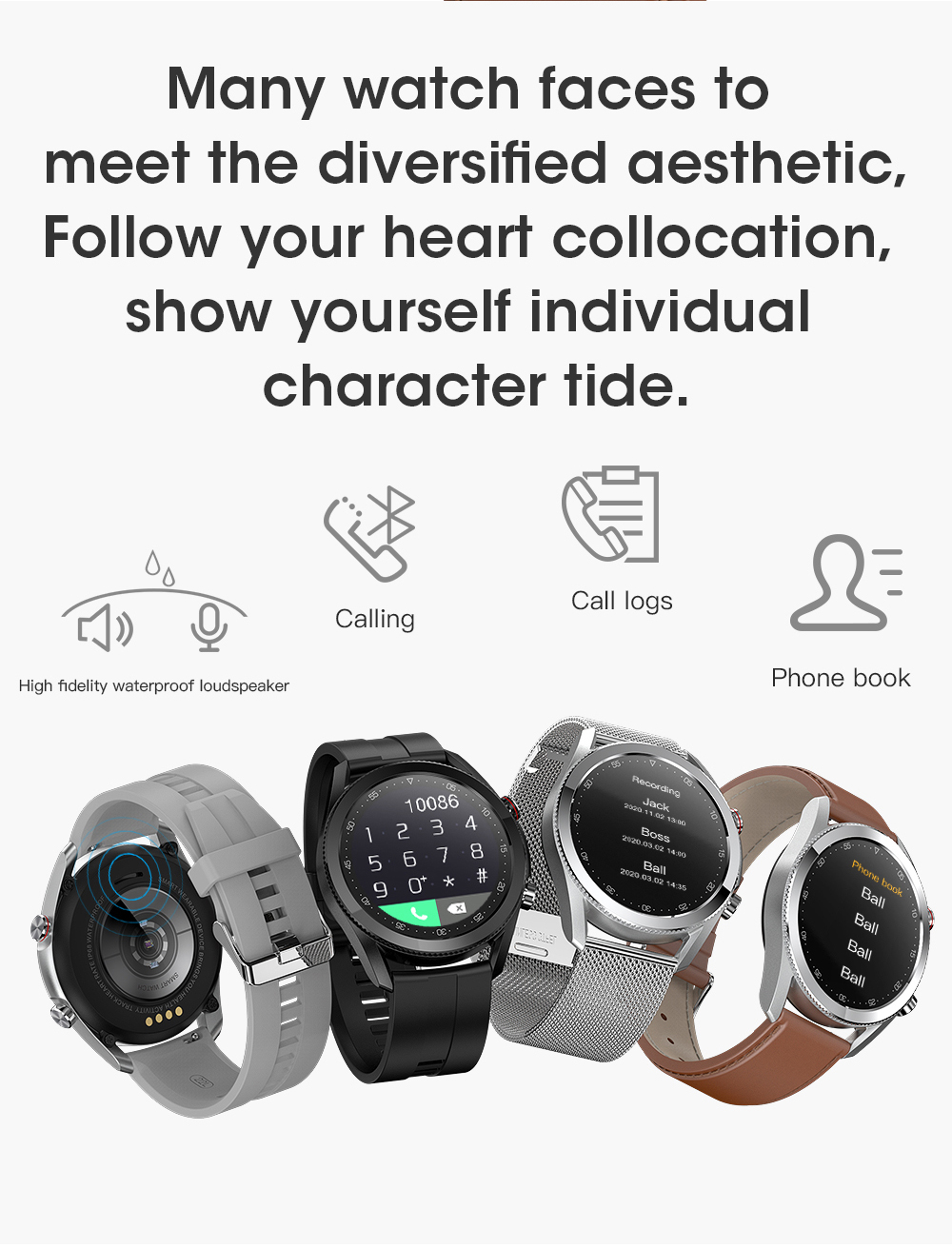 H7149e952c7b24291929c53da02391c4ce Timewolf Smart Watch Men 2021 IP68 Waterproof Android Full Touch Sports Smartwatch Bluetooth Call For Samsung Huawei Android IOS
