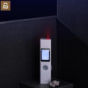 Image 1 - Youpin Duka 40m dalmierz laserowy LS P pamięć USB dalmierz pomiarowy precyzyjny dalmierz pomiarowy